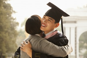 Mother and Graduate Hug_Medium